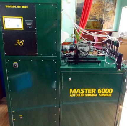 NOVO Masina za test popravku dizni i pumpi Master