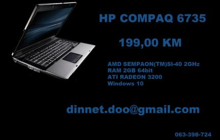 HP COMPAQ 6735 Laptop
