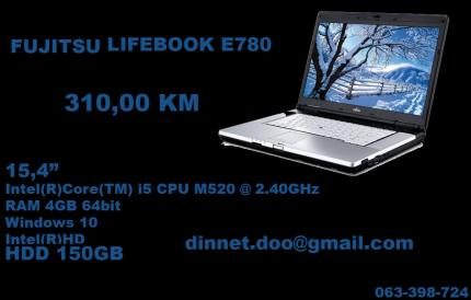 FUJITSU LIFEBOOK E870 Laptop