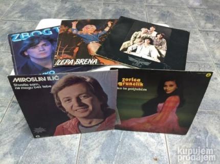 Gramofonske ploče - Long Play i Singl
