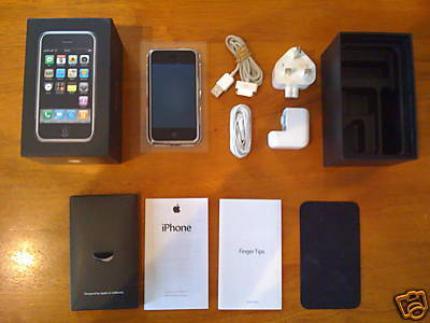 Potpuno nove BLACK Apple iPhone 3G GPS 16GB AT & T