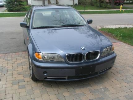 2002 BMW 330xi (4x4) mali X5