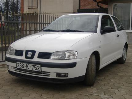 SEAT IBIZA SDI 2001 REGISTROVAN