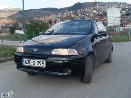 prodajem auto Fiat Punto Kabriolet