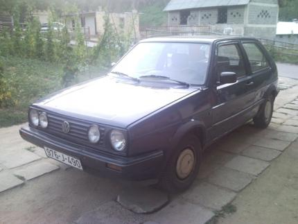 Volkswagen Golf II reg. do novembra