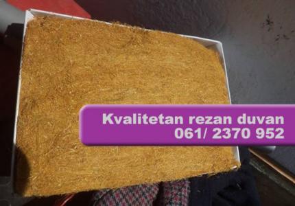 Ekstra kvalitetan rezan duvan 10€